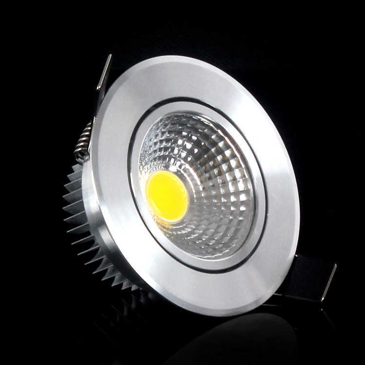 10pcs/lot Free shipping COB Led spotlight 3W 6W LED Downlight Ceiling lamp recessed Cold/Warm white Dimmable/Non-dimmabel