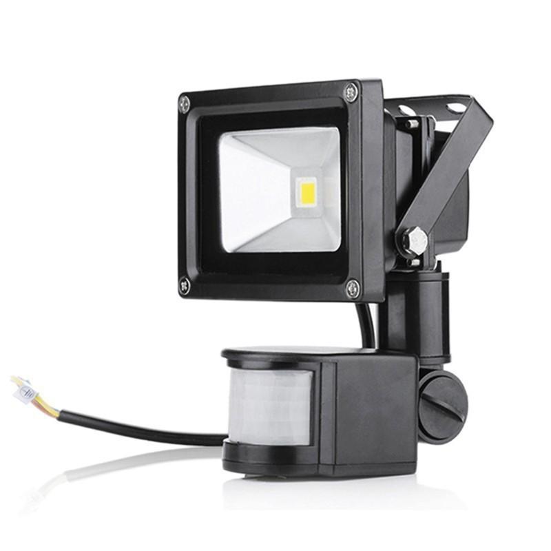 1pcs Motion Sensor Led 220V 110V Outdoor Led Lamp With Motion Sensor 10W 20W 30W 50W Led Floodlight Spotlight Lamp for Garden
