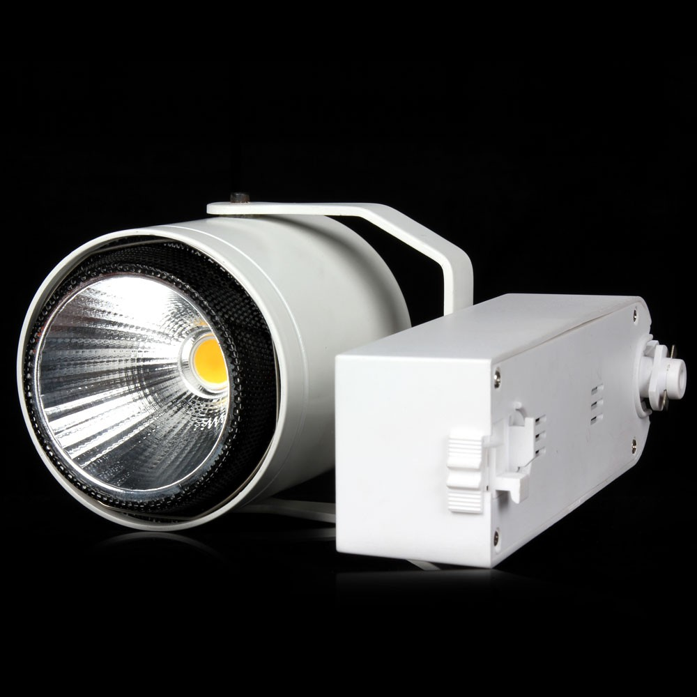 4pcs Led Track Light 40W COB Rail Track Lighting 110V 220V Ceiling Spotlight Integration Lights for Shop Led Track Lights