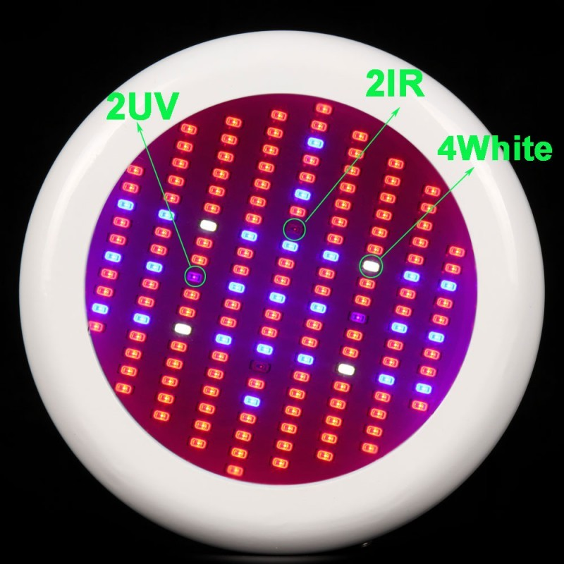 1pcs Led Lights Growing Plants 150W SMD5730 Red Blue UV IR White for Plant Grow Tent Grow Box Full Spectrum UFO