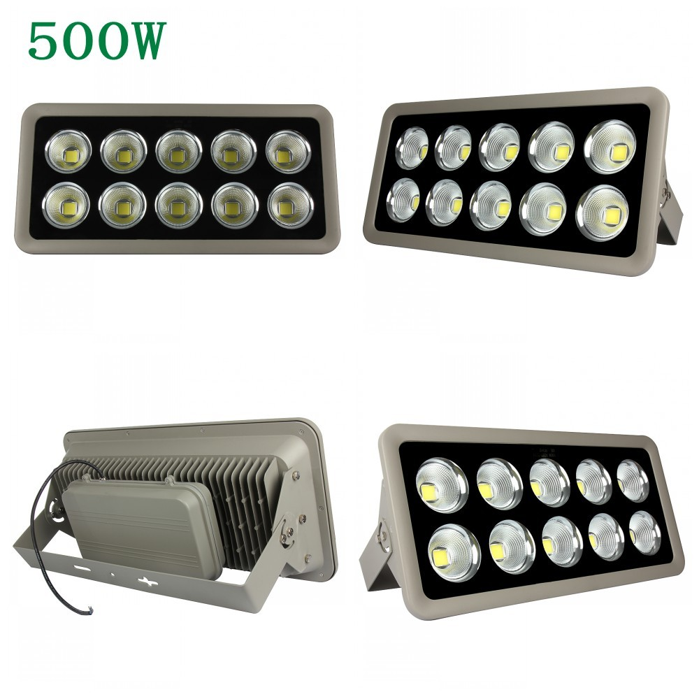 4pcs COB Led Flood Light 200W 300W 400W 500W Spotlight Floodlight Led Waterproof IP65 Led Projector Light Refletor Led Lamp