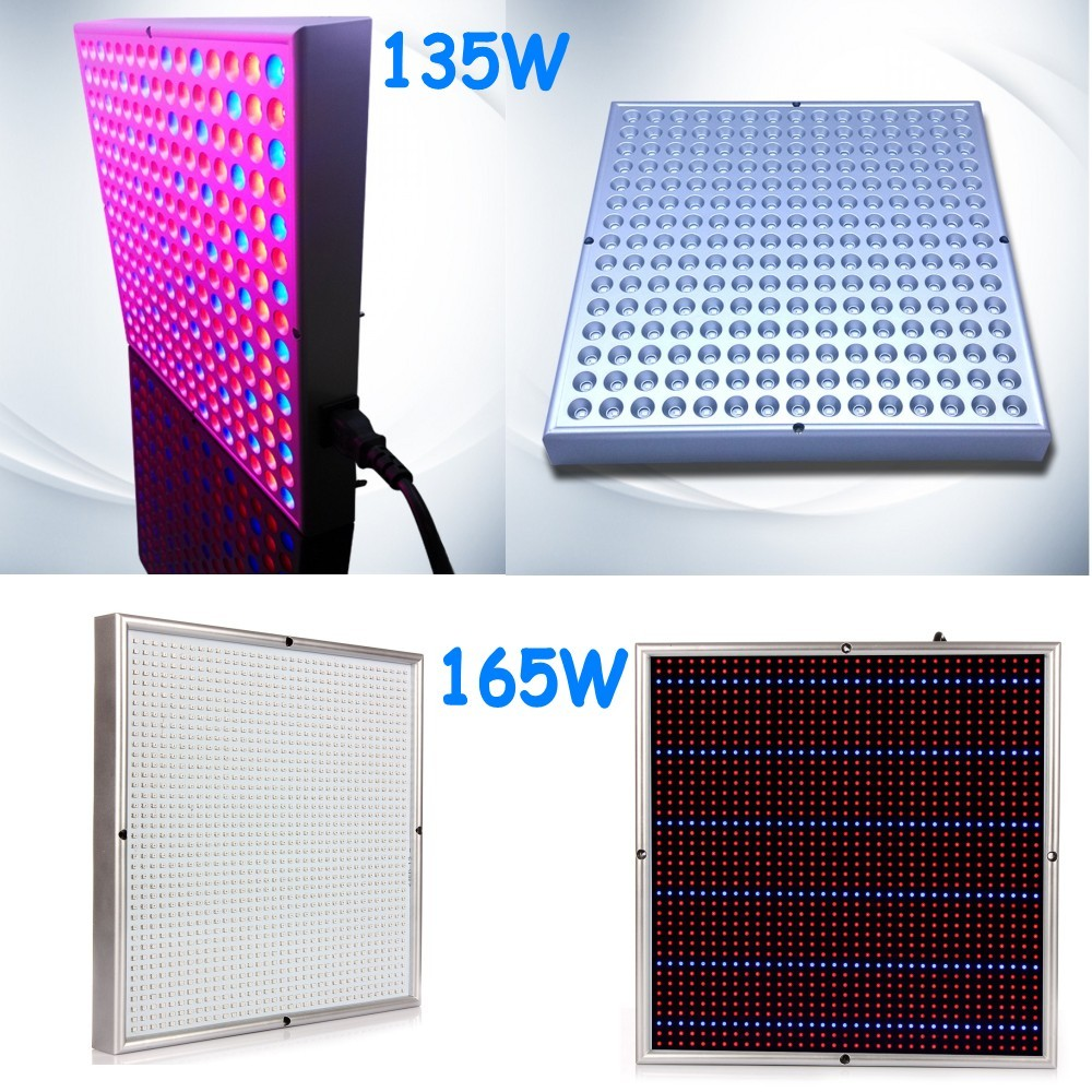 1pcs Led Aquarium Lights 135W 165W Full Spectrum Led Grow Light Red Blue for Flower Plants Indoor Bloom Grow Box
