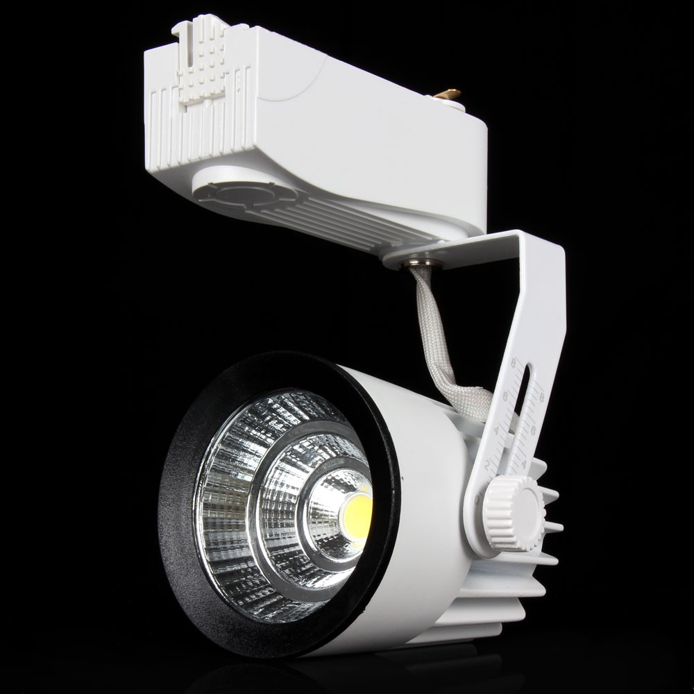 4pcs LED Track Light 15W COB Rail Lights Spotlight Equal 100W Halogen Lamp Warm/Cold White AC85-265V Track lighting