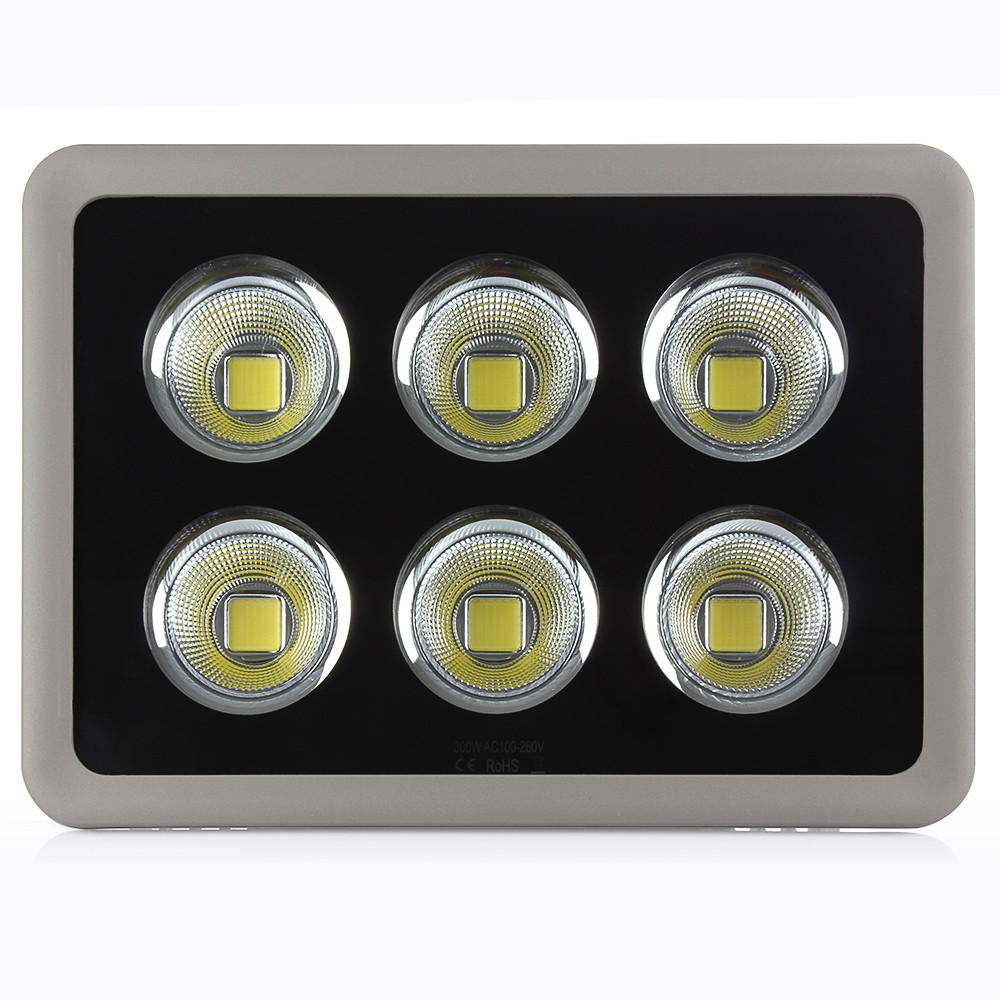1pcs High Power 200W 300W 400W COB Led Flood Light Projectrue Exterior Garden Landscape Led Flood Spotlight