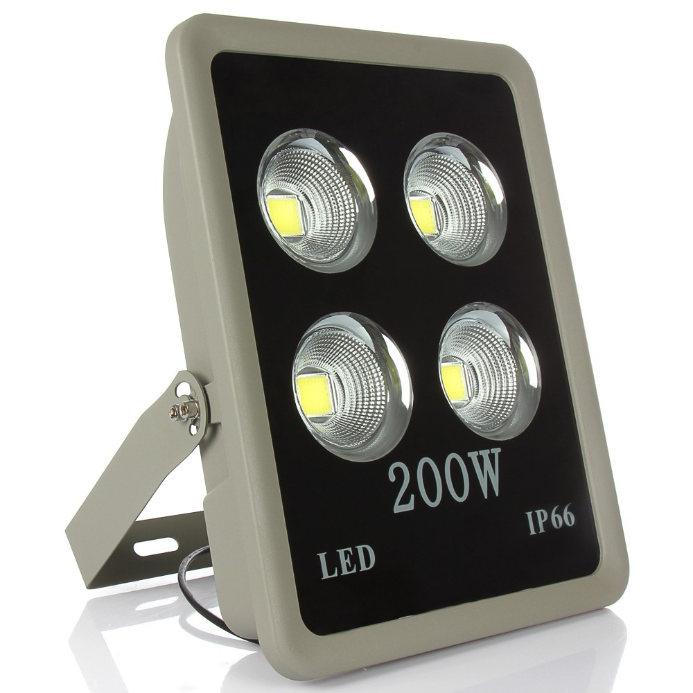 1pcs COB 200W 300W 400W Led Floodlight Waterproof Led Outdoor Lighting IP65 Warm/Cold White AC85-265V