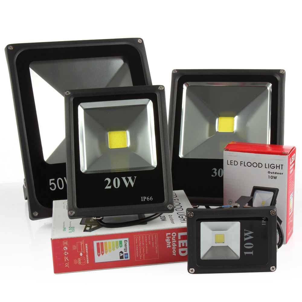 Led Flood Light IP65 Waterproof 10W 20W 30W 50W 70w 100w Landscape Lighting LED Flood Light Floodlight LED Street Lamp