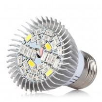 5pcs 28W LED Full Spectrum E27 Led Grow Light Lamp Bulb 28W E27 for Hydroponics System Flower Vegetable Plant