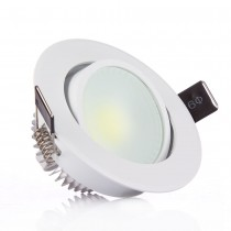 1pcs Super Bright Recessed Led COB Ceiling Downlight 3W 6W Spot Ceiling Lamp Dimmable/Non-dimmable for Home Lighting