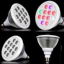 10pcs Newest Led Grow Light Full Spectrum 36W E27 Led Plant Grow Lamp Spotlight for Flowering Plant Hydroponics System