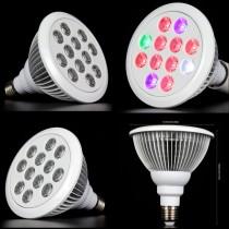 10pcs Newest Led Grow Light Full Spectrum 36W E27 Led Plant Grow Lamp Spotlight for Flowering Plant Hydroponics System