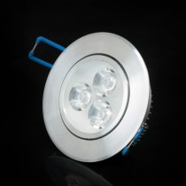 5PCS Support Dimmer LED Ceiling lamp 3W 6W AC85~265V Cool white/warm white LED Downlights High quality