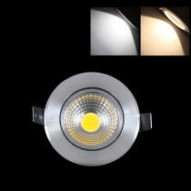 1pcs COB Led Downlight Led Lamp AC220V 110V 3W 6W Ceiling Spotlight Warm/Cold White Dimmable/Non dimmable