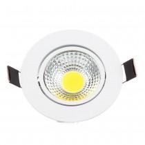 1pcs COB 3W 6W Led Downlight Brightness Spot Light Lamp AC110-240V Led Ceiling Lamp Lighting Warm/Cold White