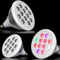 10pcs Grow Led Full Spectrum 36W E27 Led Grow Light High Power for Garden Flowering Fruiting Plant Lamp Led Light