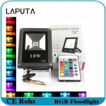 1pcs LAPUTA Outdoor Lighting Led Spotlight 10W 20W 30W 50W RGB Led Floodlight Waterproof IP65 Reflector De Led Street Light Lamp