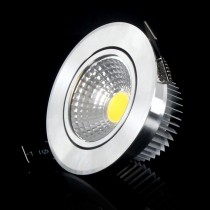 1pcs COB Downlight Recessed Led Light 3W 6W AC85-265V Led Ceiling Dimmable/Non dimmable Spotlight Lamp
