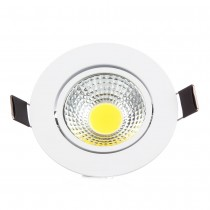 20pcs Hot Sale 3W 6W COB Led Ceiling Downlight Warm/Cold White AC110V 220V 230V 240V Spot COB Led Lamp