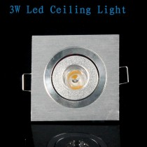 1X Led Ceiling Downlight 3w Warm/Cold/Pure White Spot Light Lighting Super Bright Recessed Spotlights