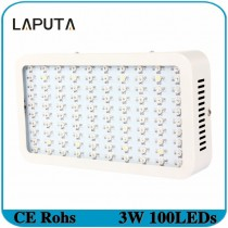 1pcs LAPUTA 300W Led Grow Light Full Spectrum Led Plant Growth Lamp 380-840nm for Greenhouse Plant Flowering Grow Tent