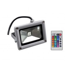 4X High Power 16 Colors 10W Led flood light RGB Flash Landscape Wash Lighting Led Flood Reflector 24key Remote control
