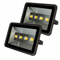 2pcs Wholesale 200W Outdoor Lighting Led Flood Light Waterproof IP65 Floodlights High Power AC85-265V