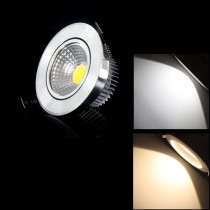 100pcs Led Ceiling Downlight COB Led lamp 3W 6W Warm/Cold White Recessed Spot Kitchen Indoor Lighting
