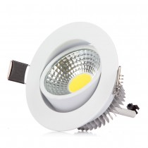 50pcs High Power Dimmable COB Downlight Led Light Ceiling Lamp 3W 6W COB Led Recessed Indoor Lighting with Led driver