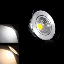 100pcs Led Ceiling Spot Light COB 3W 6W Led Down Light Recessed Lamp AC85-265V 110V 220V for Indoor Lighting