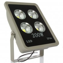 4pcs AC85-265V LED Floodlight 200W 300W 400W COB Flood Spotlight Waterproof Outdoor Lighting IP65 AC85-265V