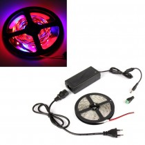 2pcs LED Flexible Strip Grow Light DC12V Led Grow Light for Hydroponics Flowering Plant LED strip 4Red 1Blue + Led Driver