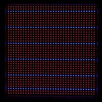 2pcs 165W Led Grow Light 1131Red 234Blue Led Plant Lamp for Flowering Grow Box Grow Tent Greenhouse Grow Lighting