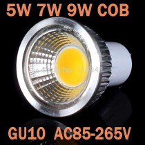1PCS Led Spot Light 3W 5W 7W 9W GU10 COB Led Light Bulbs Light Dimmable Led Spotlight 110V 220V Ultra Bright High Quality