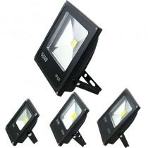 10pcs Outdoor Lighting Led Floodlight 10W 20W 30W 50W 70W 100W RGB Warm/Cold White IP65 Waterproof Led Spotlight Flood Light