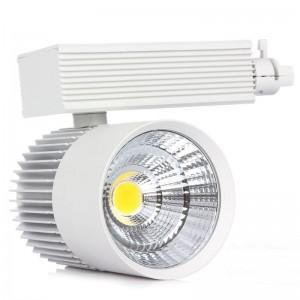 10pcs 30W COB LED Track light Warm/Cold White Track Lighting Retail Spot Wall Lamp Rail Spotlights Replace Halogen Lamps
