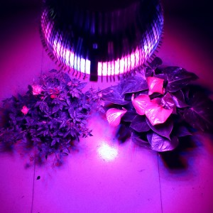 4pcs/lot Hot sales cheap 54w E27 85-265V High power 12red 6Blue LED Grow light for flowering plant and hydroponics system
