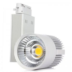 4pcs LED Track Light 30W COB Rail Light Spotlight Lamp Track Lamp Spot Rail Lamp Bulb Track Lighting AC85-265V