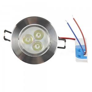 5pcs Dimmable/Non dimmable 3W 6W White/Warm White Recessed LED Ceiling Light LED Downlights LED Bulb Lights High Quality