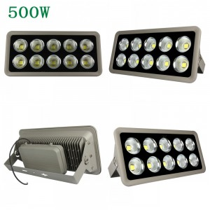 4pcs COB Led Flood Light 200W 300W 400W 500W Spotlight Floodlight Led Waterproof IP65 Led Projector Light Refletor Led Lamp