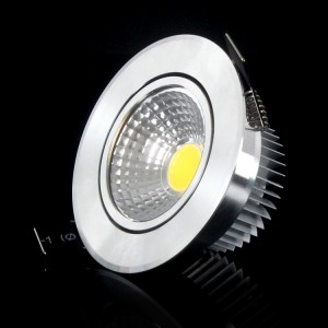 10pcs High quality COB chip Led downlights Recessed 3W 6W Dimmabel cool/warm white AC110V-220V With driver