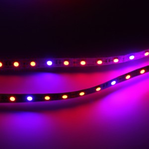 1pcs Led Aquarium Lighting Red Blue 4:1 Led Flexible Strip Light Waterproof Greenhouse Hydroponic Plant Growing Lamp