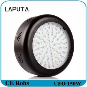 1pcs LAPUTA Full Spectrum LED UFO 150W Led Grow Light Plant Growing Lamp for Flower Vegetables 50X3W Led Chip